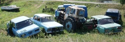 Тихон Маршрут - кладбище машин