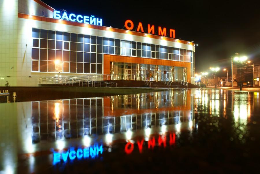 ранее утро у бассейна ОЛИМП - Курган