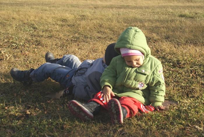 Дети в поле...